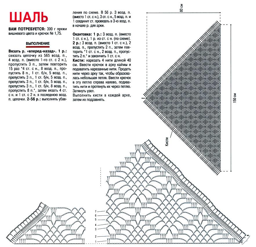 Вязание спицами схема топика фото 357